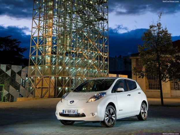 Фото Nissan Leaf 2016-2017