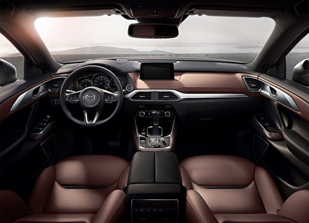 фото интерьер Mazda CX-9 2016-2017 года