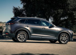 фото новая Mazda CX-9 2016-2017 (вид сбоку)