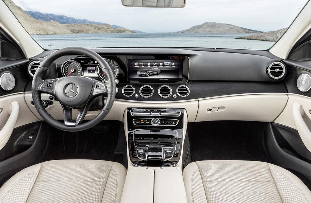 фото салон Mercedes-Benz E-Class (W213) 2016-2017 года