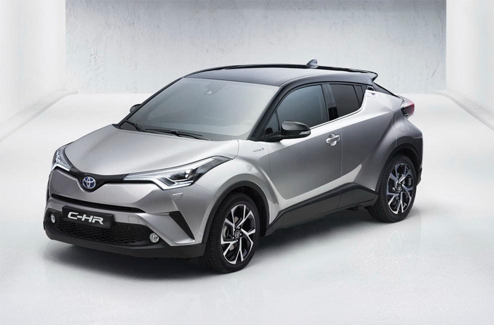 фото новый гибрид Toyota C-HR 2016-2017 года