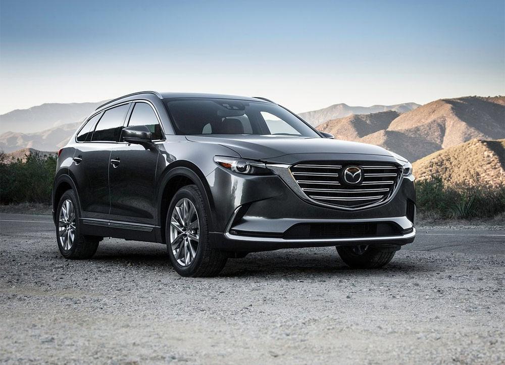 фото второе поколение Mazda CX-9 2016-2017 года
