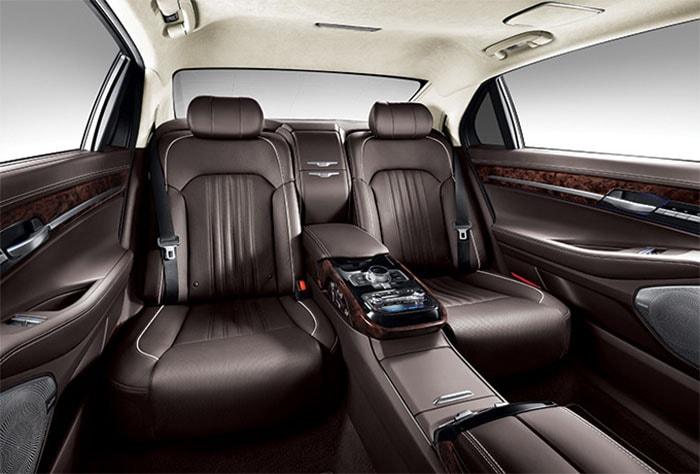 фото интерьер Hyundai Genesis G90 2016-2017 года