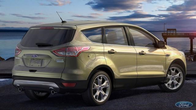 Новый Форд Куга 2017 модельного года