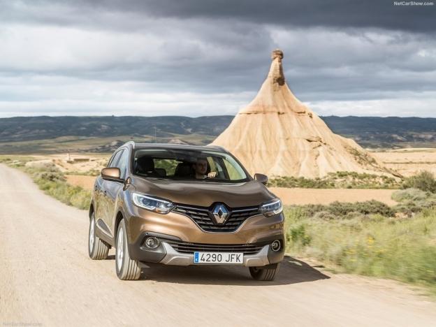 Фото Renault Kadjar 2016-2017 спереди