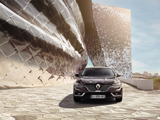 Фото Renault Talisman 2016-2017 спереди