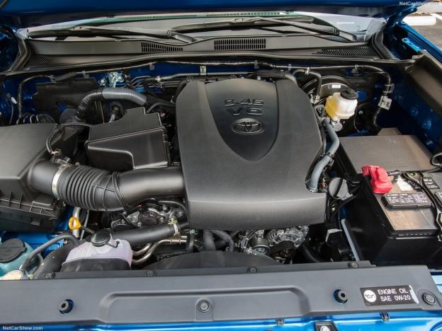 Двигатель Тойота Такома 2016-2017