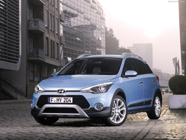Фото новой Hyundai i20 Active 2016-2017