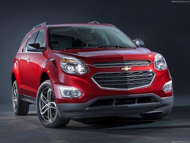 Фото Chevrolet Equinox 2016-2017 спереди