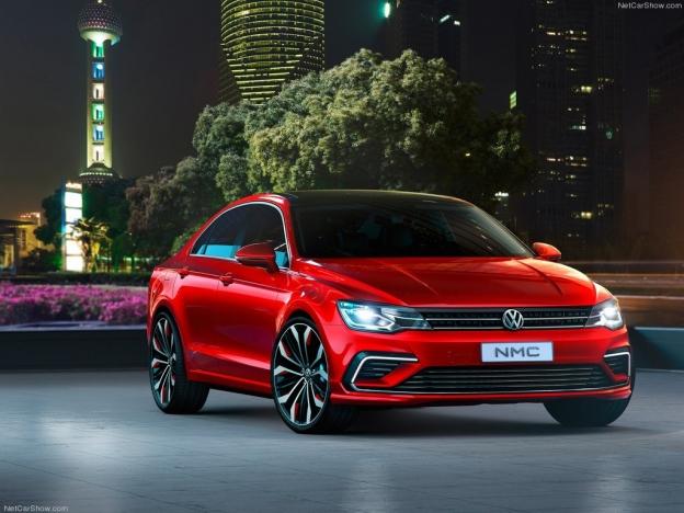 Фото Volkswagen New Midsize Coupe 2016-2017 года