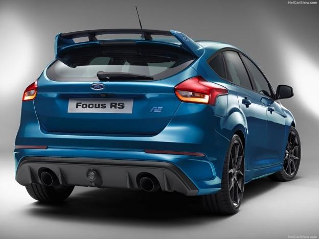 Фото нового Ford Focus 3 RS 2016 2017 сзади