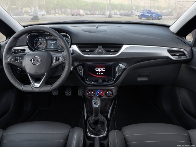 Opel Corsa OPC 2016-2017 фото салона