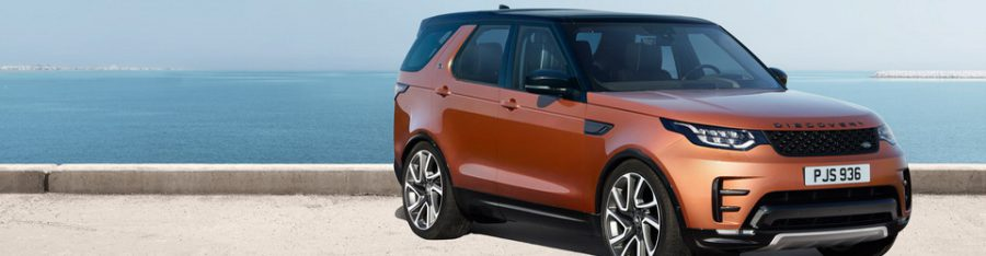 Новинка Land Rover Discovery 2017