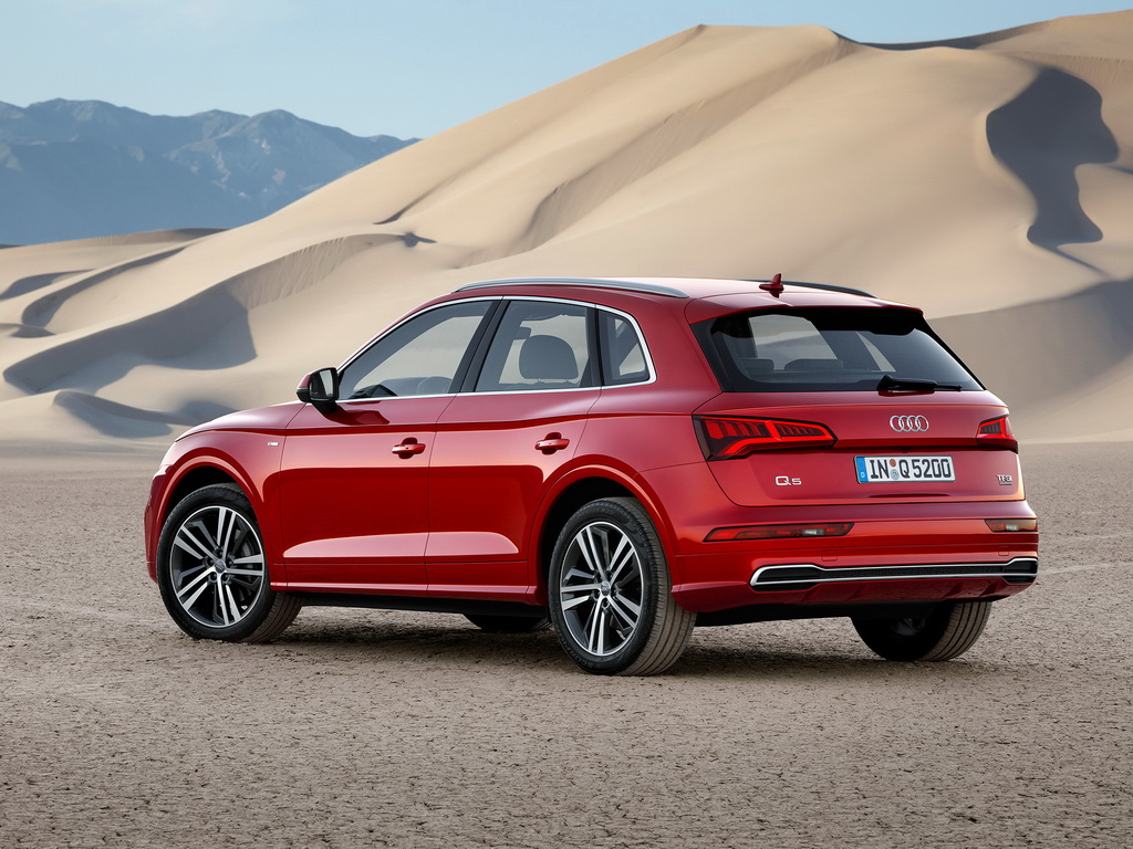 Обновленный Audi Q5 2017-2018 оснастили приводом quattro ultra и пневматической подвеской