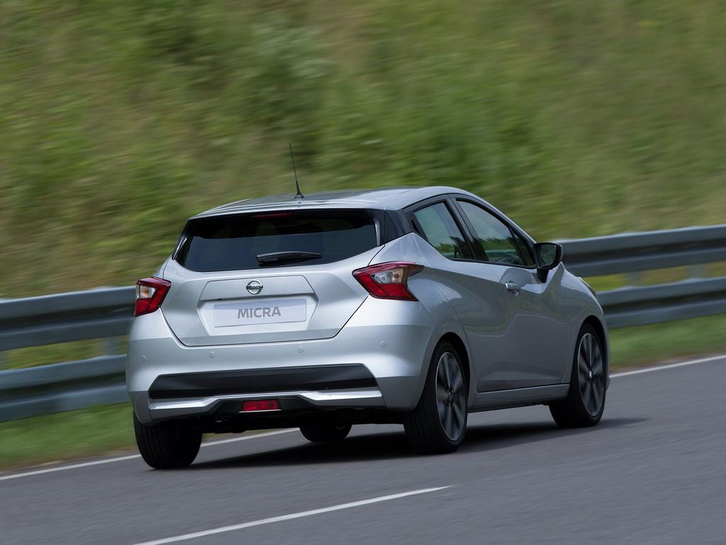 Nissan Micra 2017-2018: популярный хэтч в пятом поколении