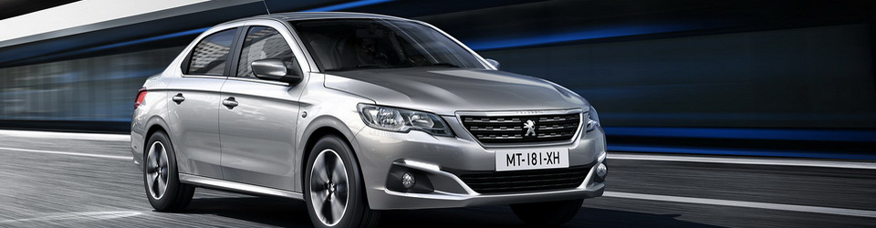 Peugeot 301 2017-2018: рестайлинг седана из Франции
