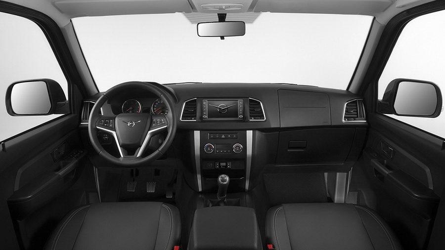 UAZ Пикап 2017-2018: «Патриот» в новом кузове