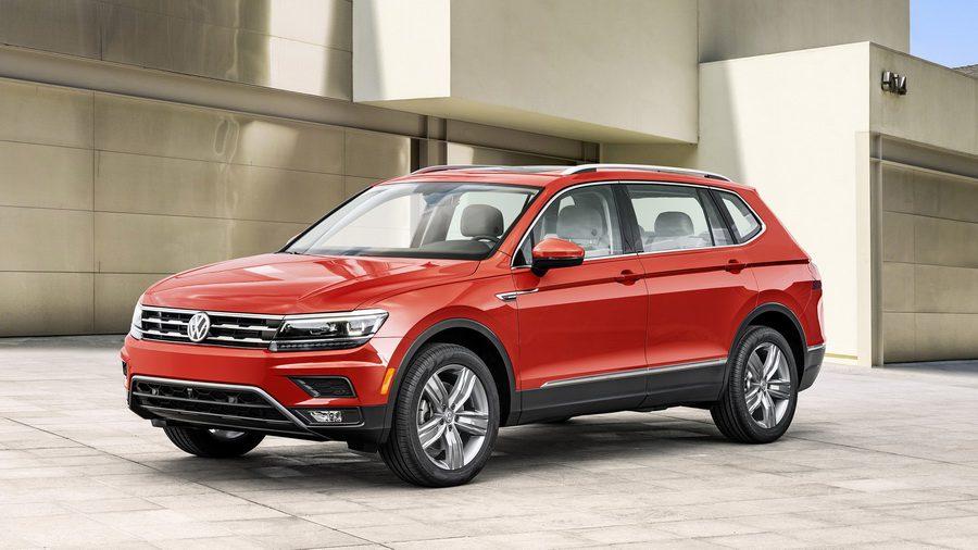 Volkswagen Tiguan Allspace 2017-2018: удлиненная версия знакомого вседорожника