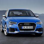 Audi RS3 Sportback 2017-2018 в новом кузове комплектации, цены, фото, технические характеристики и видео тест драйв