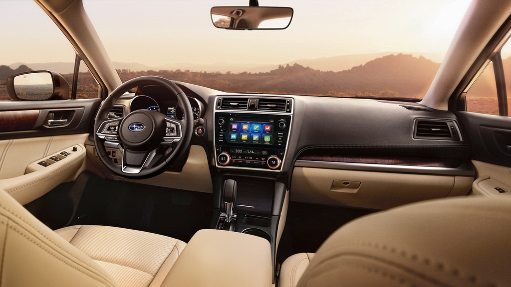 Subaru Outback 2017-2018 пережил очередное обновление