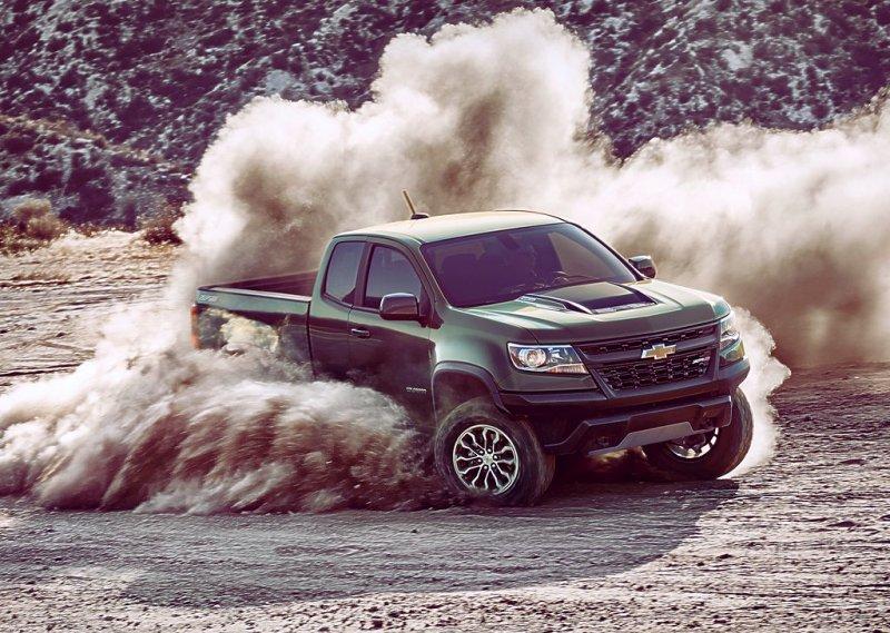 Chevrolet Colorado ZR2 2017-2018: для бездорожья из Америки