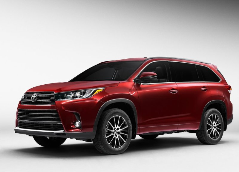 Toyota Highlander 201-2018: могучая модель в новом исполнении