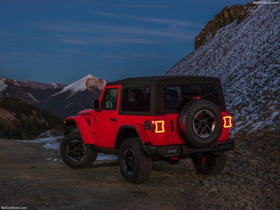 Обновленный Jeep Wrangler был представлен на автосалоне в Лос Анджелесе