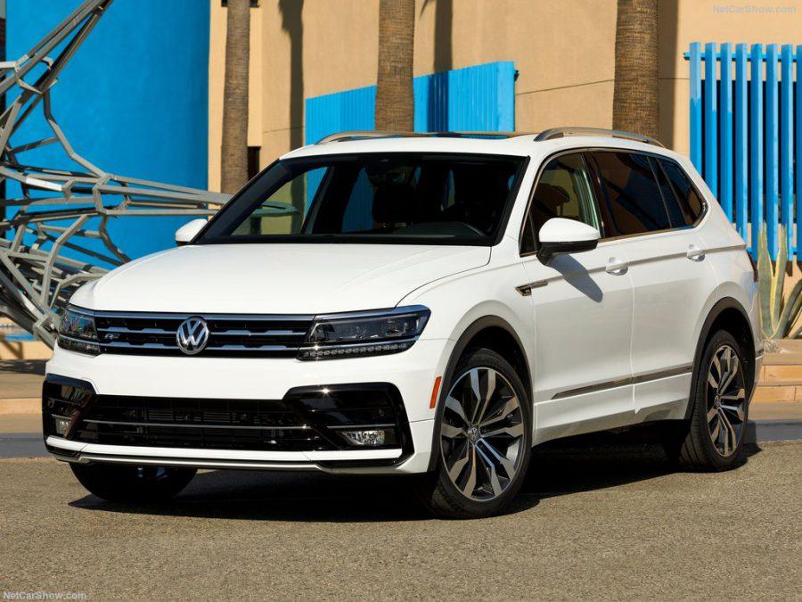 Предстоящая премьера Volkswagen Tiguan Coupe