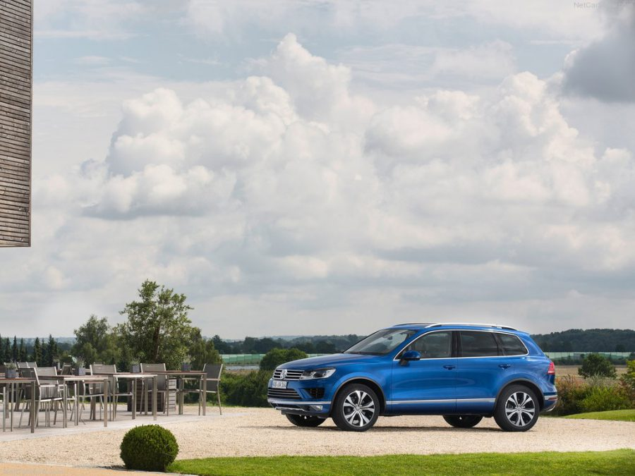 Снимки фотошпионов Volkswagen Touareg