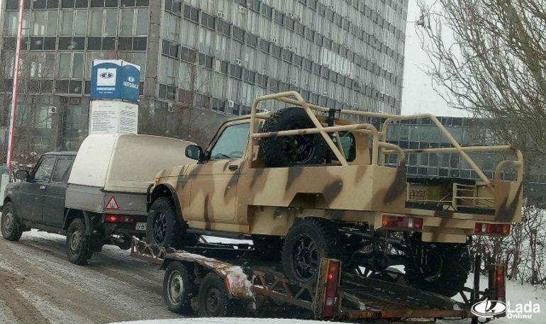 Появились новые фотографии отечественного внедорожника Lada 4×4