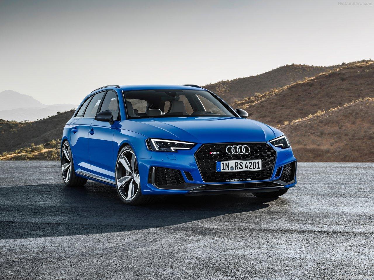 Официальные фотографии Audi RS4 Avant
