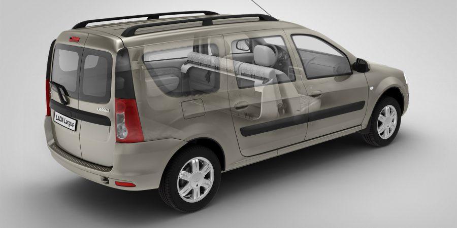 Новый фургон Лада Ларгус от АвтоВАЗ
