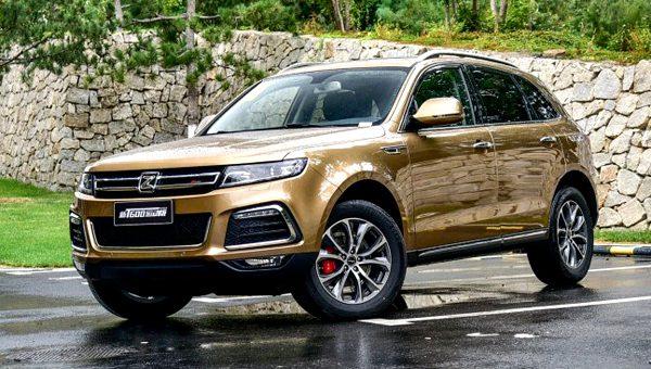Кроссовер Zotye будет основан на дизайне Range Rover