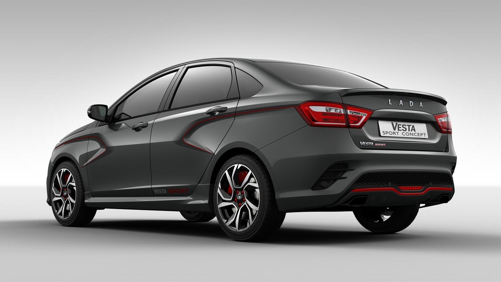 АвтоВАЗ планирует начать выпуск LADA Vesta Sport