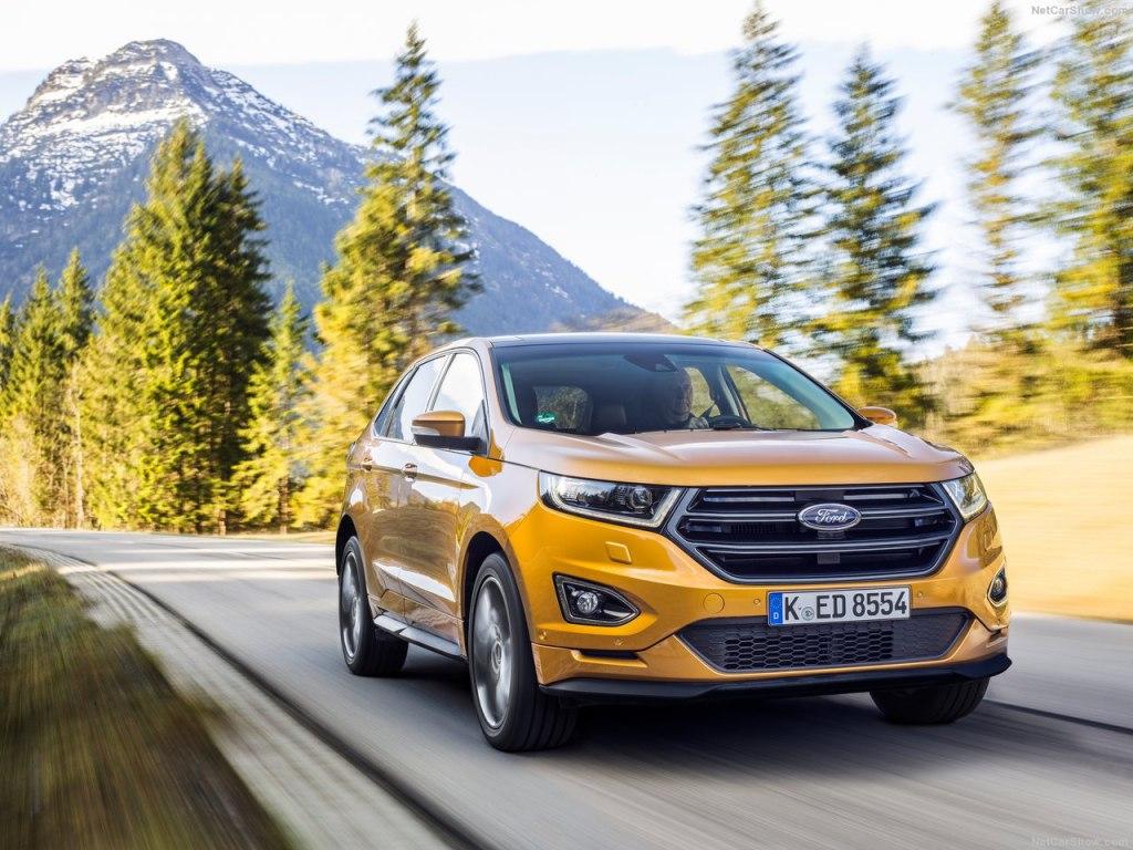 Ford Edge 2018 — комплектации, цены, фото и характеристики