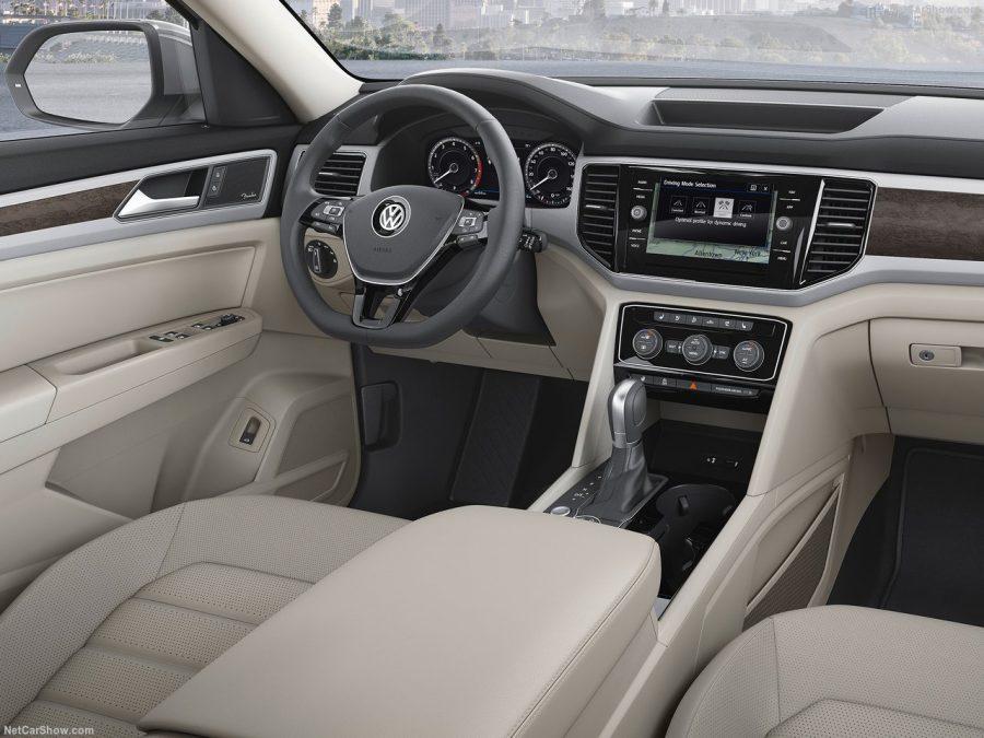 Volkswagen Teramont 2018: комплектации, цены и фото