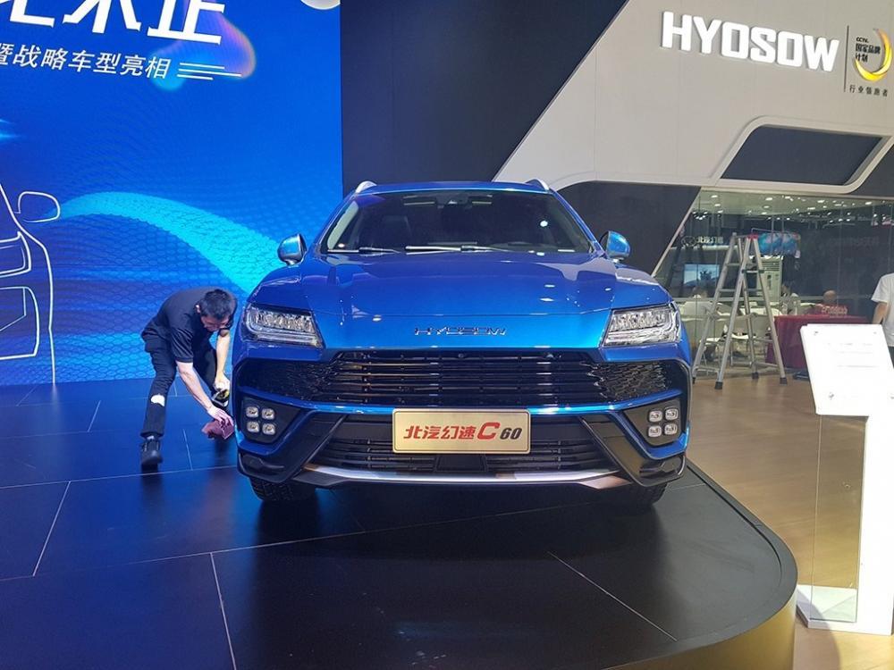 В КНР была представлена подделка под модель Lamborghini Urus