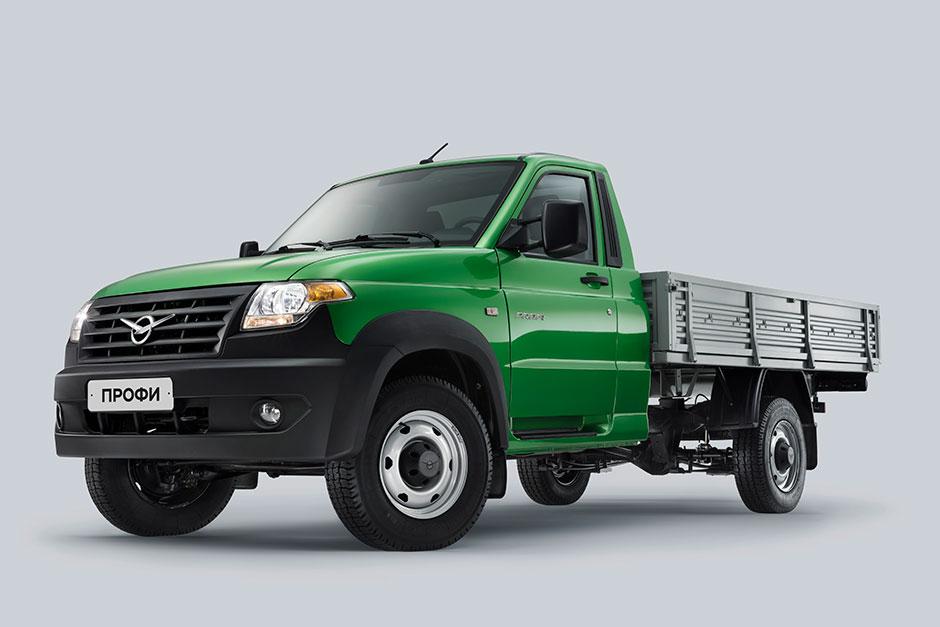 УАЗ продемонстрировал грузовик, оснащённый гибридным мотором