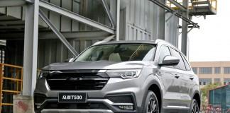 Зоти Т500 2019 года – оригинальный кроссовер от китайских производителей